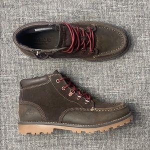 Kid's Timberland Earthkeepers Brown Leather Boots